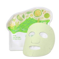Маска тканевая осветляющая Ciracle From Jeju Citrus Sudachi Whitening Mask