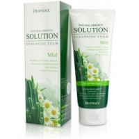 Пенка для умывания кактус, ромашка NATURAL PERFECT SOLUTION CLEANSING FOAM