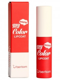 Тинт для губ Oops My Color Lip Coat Velvet - 03 Coral Flash 3гр