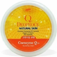 Крем с коэнзимом Q10 DEOPROCE NATURAL SKIN COENZYME Q10 NOURISHING CREAM