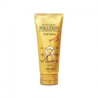 Пенка для умывания NATURAL PERFECT SOLUTION CLEANSING FOAM GOLD