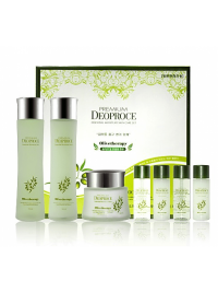 Набор PREMIUM DEOPROCE OLIVETHERAPY ESSENTIAL MOISTURE SKIN CARE