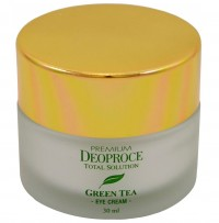 Крем для век увлажняющий PREMIUM DEOPROCE GREENTEA TOTAL SOLUTION EYE CREAM