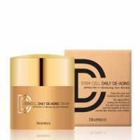 Крем ДД маскирующий DEOPROCE STEM CELL DAILY DE-AGING CREAM 21# 40g