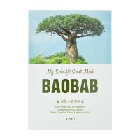 My Skin-Fit Маска для лица тканевая A'PIEU My Skin-Fit Sheet Mask (Baobab Tree) 25гр