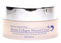 Крем для лица морской коллаген DEOPROCE MARINE COLLAGEN MINERAL CREAM 100гр