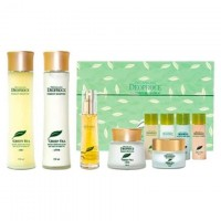 Набор для лица уходовый PREMIUM DEOPROCE GREENTEA TOTAL SOLUTION 5 SET