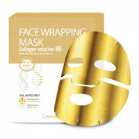 Маска для лица FW с коллагеном Face Wrapping Mask Collagen Solution 80 27гр