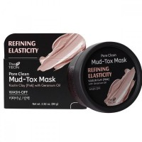 Маска для лица с каолиновой глиной TheYEON Pore Clean Mud-Tox Mask (Pink)
