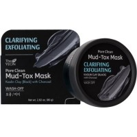 Маска для лица с каолиновой глиной TheYEON Pore Clean Mud-Tox Mask (Black)