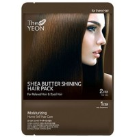Маска для волос с маслом Ши TheYEON Shea butter shining hair pack