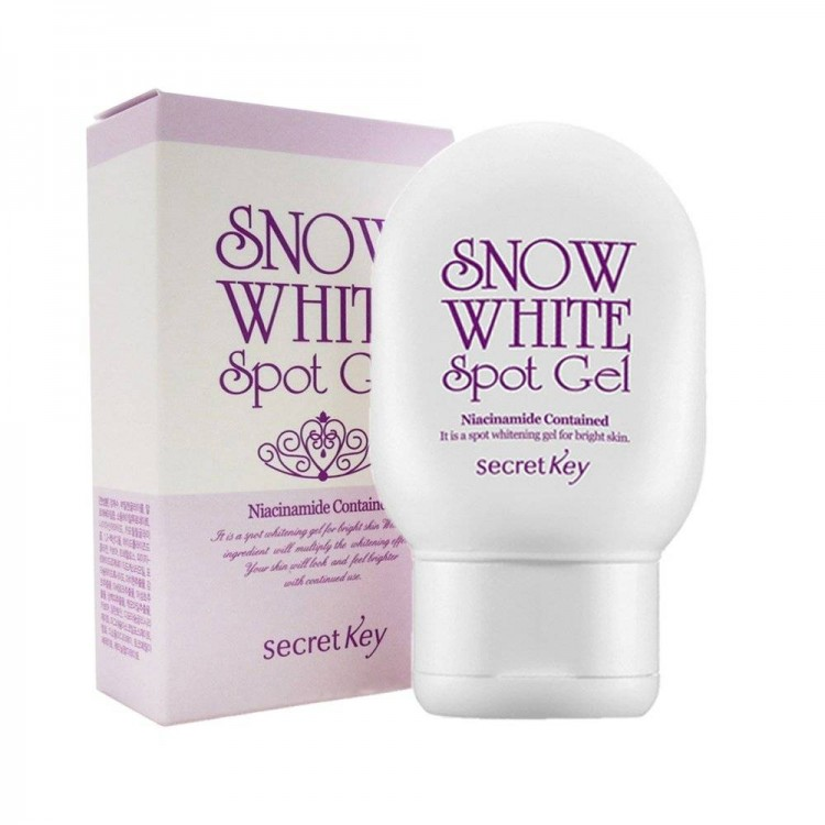 Корейская косметика Гель для лица и тела осветляющий Snow White Spot Gel 65гр