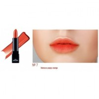 Помада для губ Urban City Kiss & Tension Lipstick Nº7 morocco poppy orange 3,5g