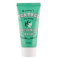 Маска для лица ночная A'PIEU Fresh Mate Tea Tree Mask ( Calming )