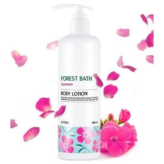 Лосьон для тела A'PIEU Forest Bath Body Lotion (Geranium)